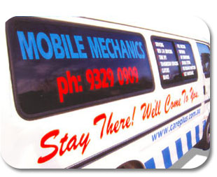 mobile car unit